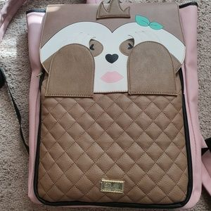 Betsey Johnson Sloth Backpack